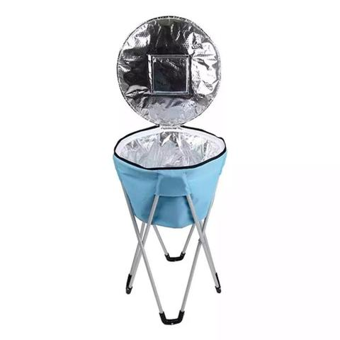 Imagem de Bolsa Térmica Ice Cooler Pedestal 32 Litros Azul