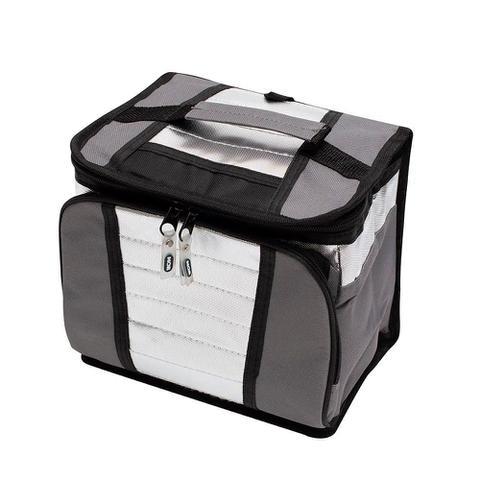 Imagem de Bolsa Térmica Sacola Ice Cooler 7,5 litros com alça Mor Cinza/Chumbo