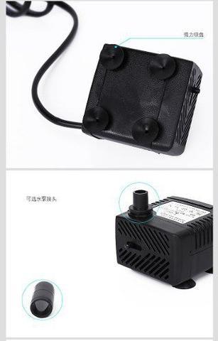 Imagem de Bomba para fontes 200l/h Minjiang Ns-160 Aquários fontes