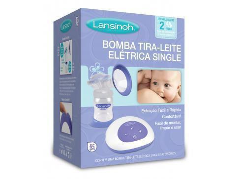 Imagem de Bomba Tira-Leite Elétrica Single - Lansinoh