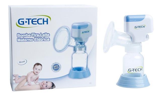 Imagem de Bomba Tira Leite Materno Eletrica Compact  BLACOMP - G-tech