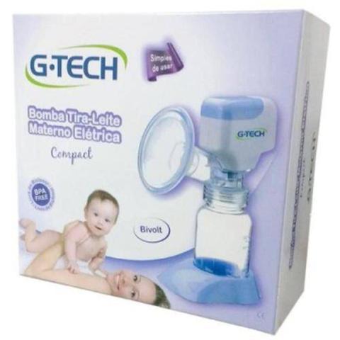 Imagem de Bomba Tira-Leite Materno Eletrica Compact G-Tech
