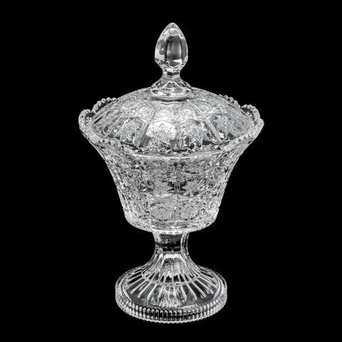 Imagem de Bomboniere De Cristal Com Pé 17x27.5cm Starry Wolff