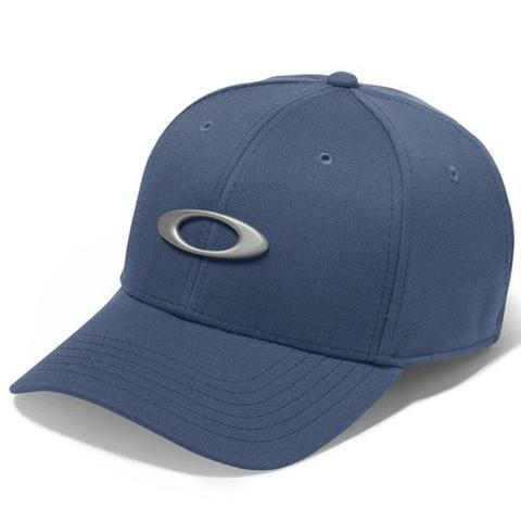 Imagem de Boné Oakley Aba Curva Tincan Masculino - Azul Marinho