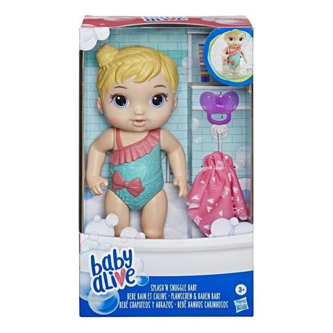 Imagem de Boneca baby alive banhos carinhosos - hasbro e8716