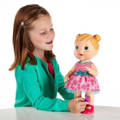 Imagem de Boneca Baby Alive Machucadinho Loira - Hasbro A5390