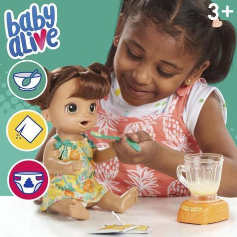 Imagem de Boneca Baby Alive Misturinha Sabor Tropical Morena Hasbro
