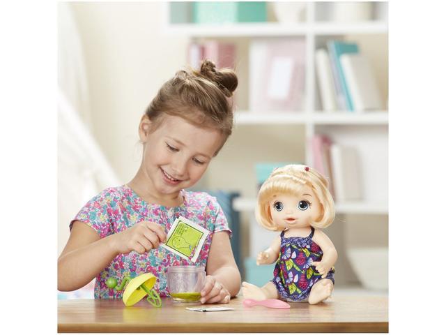 abf35edb18 Boneca Baby Alive Papinha Divertida com Acessórios - Hasbro - Boneca ...