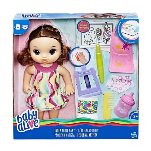 Imagem de Boneca Baby Alive - Pequena Artista Morena - Hasbro