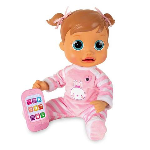 Imagem de Boneca Baby Wow Analu Interativa 150 Frases Movimento Boca e Cabeça Multikids BR732