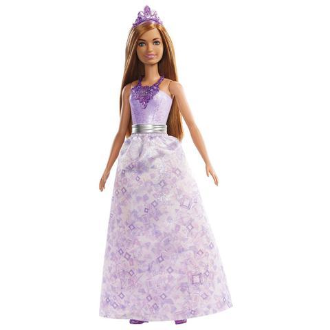 Imagem de Boneca Barbie - Barbie Dreamtopia - Princesas - Ruiva - Mattel