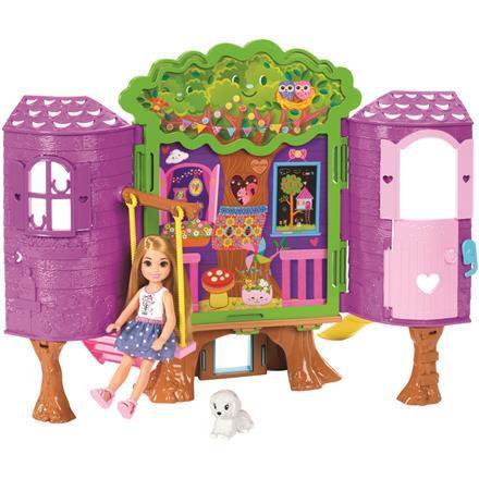 Imagem de Boneca barbie casa da árvore chels fpf83