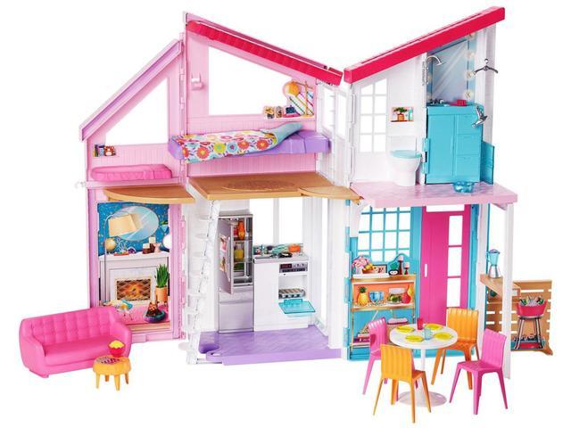 Imagem de Boneca Barbie Casa de Malibu com Acessórios - Mattel