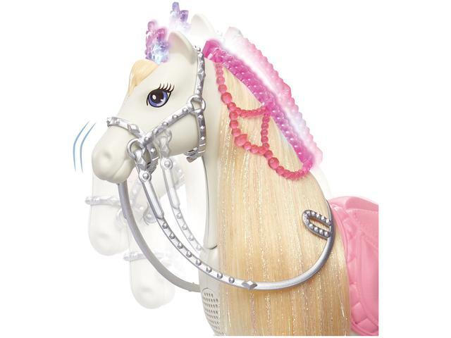 Imagem de Boneca Barbie com Cavalo Aventura das Princesas