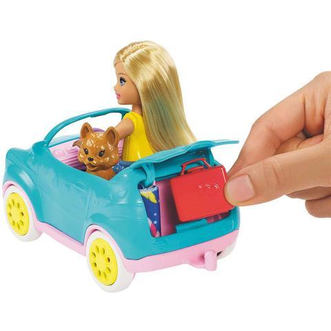 Imagem de Boneca Barbie e Veículo - Trailer da Chelsea - Mattel