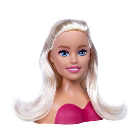 Imagem de Boneca Barbie Faça Penteados Busto Com Acessórios Fashion