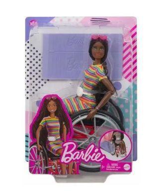 Imagem de Boneca Barbie Fashionista Cadeirante Negra- Mattel
