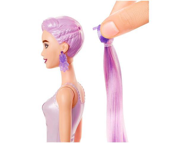 Imagem de Boneca Barbie Fashionista Color Reveal Glitter