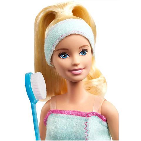 Imagem de Boneca Barbie Fashionista Dia de Spa com Pet Mattel