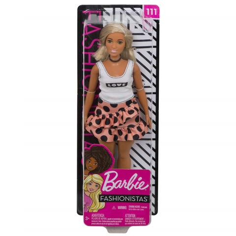 Imagem de Boneca Barbie Fashionista Doll Look Modelo 111 Mattel Fbr37