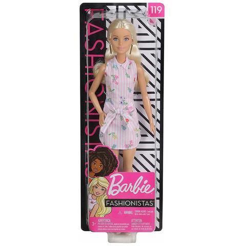 Imagem de Boneca Barbie Fashionista Doll Look Modelo 119 Mattel Fbr37