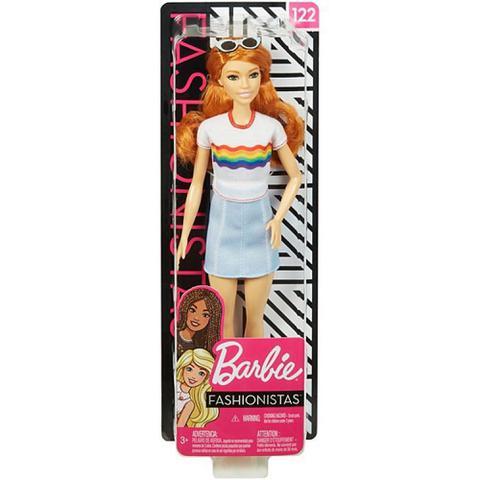 Imagem de Boneca Barbie Fashionista Ruiva FXL55 - Mattel (13871)
