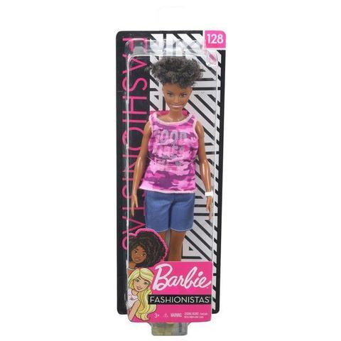 Imagem de Boneca Barbie Fashionistas 128 - Mattel