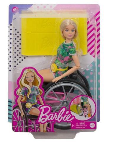 Imagem de Boneca Barbie Fashionistas  165 Conjunto Tropical Loira