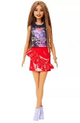 Imagem de Boneca Barbie Fashionistas Power Afro FXL56 - Mattel (13870)