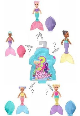 Imagem de Boneca Barbie Mini Surpresa Dreamtopia Sereia - Mattel