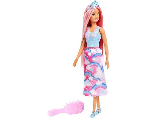 Imagem de Boneca Barbie Penteados Mágicos Dreamtopia