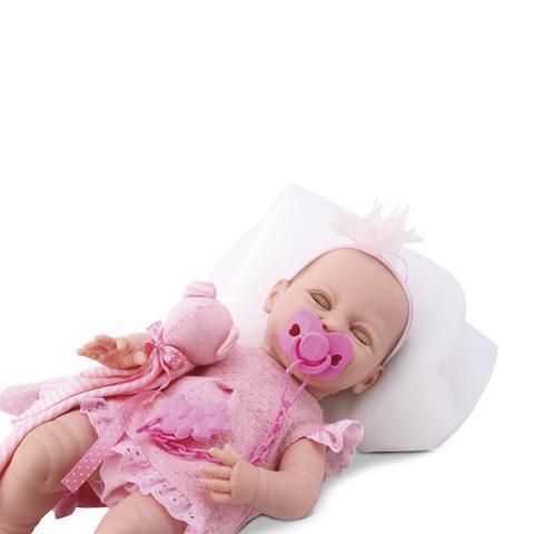 Imagem de Boneca bebê estilo reborn menina dengo
