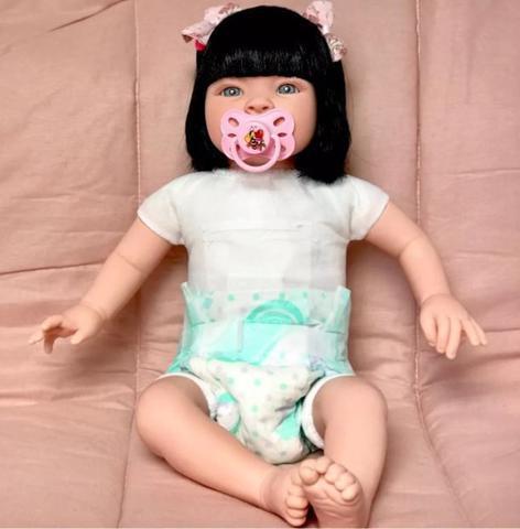 Imagem de Boneca Bebê Realista - Kit Acessórios