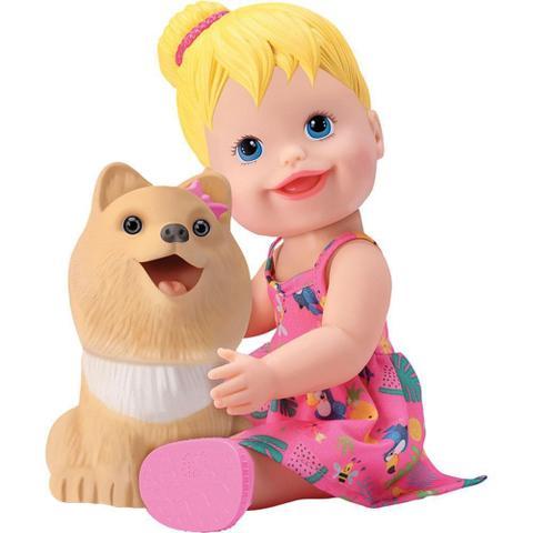 Imagem de Boneca e Pet Papinha Divertoys 8101