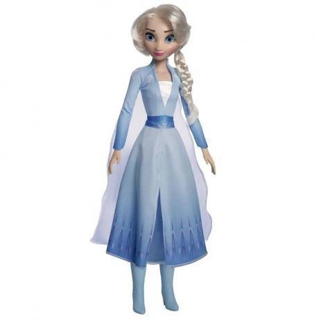 Imagem de Boneca Elsa Articulada Grande 85 Cms Frozen 2 Baby Brink