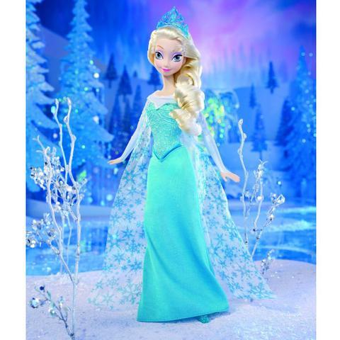 37d199edef Boneca Elsa - Disney Frozen - Mattel - Bonecas - Magazine Luiza