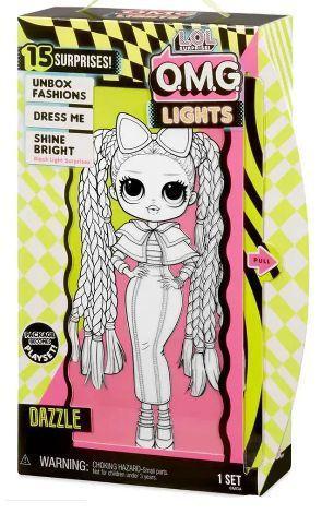 Imagem de Boneca Lol Omg Lights Dazzle Surprise Candide
