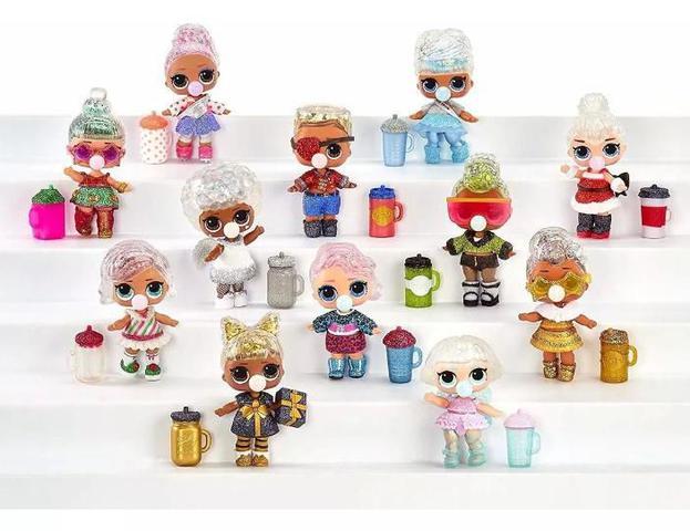 Imagem de Boneca Lol Suprise Glitter Globe Winter Disco Candide