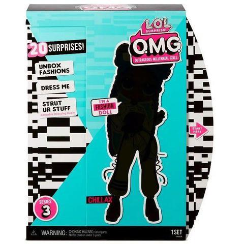 Imagem de Boneca LOL Surprise OMG DOLL Core Chillax Candide 8947