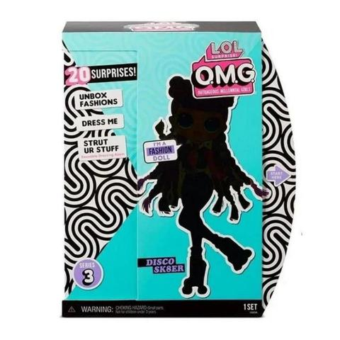 Imagem de Boneca Lol Surprise Omg Doll Core Roller Chick - Candide