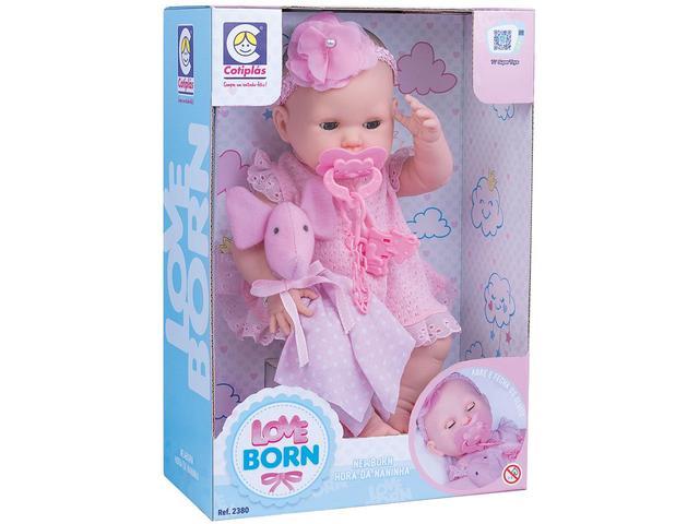 Imagem de Boneca Love Born Hora da Naninha com Acessórios