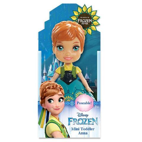 Imagem de Boneca Mini Toddler Anna Frozen Fever Disney Sunny 1262