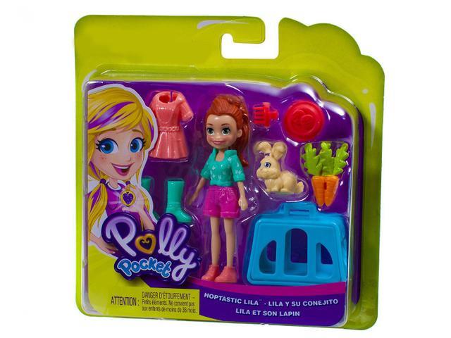 Imagem de Boneca Polly Pocket com Bichinhos com Acessórios