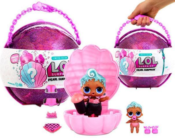 Imagem de Boneca Surpresa - LOL - Lil Outrageous Littles - Lol Pérola - 7 Surpresas