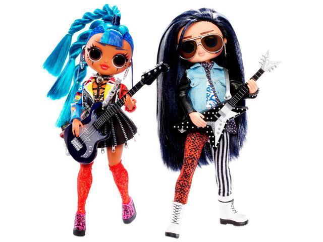 Imagem de Bonecas LOL Surprise OMG Rocker Boy e Punk Grrrl