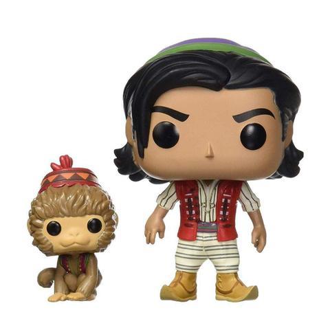 Imagem de Boneco Aladdin of Agrabah com Abu 538 Disney Aladdin - Funko Pop