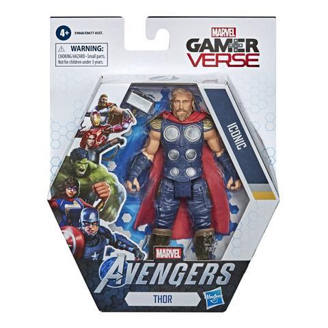 Imagem de Boneco Articulado  Avengers Game Verse  Thor  Marvel  Hasbro - E9868