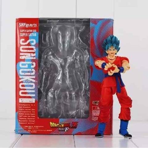Imagem de Boneco Articulado Goku Blue Dragon Ball Super