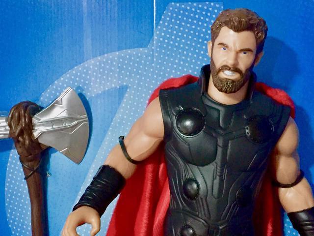 Imagem de Boneco Articulado Thor Vingadores Ultimato Gigante Mimo 0567