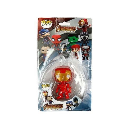 Imagem de Boneco Brinquedo Homem De Ferro Marvel Funko Pop (4774)